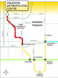 Toronto Subway Map Toronto U0027s Subway Brings Downtown Vision To Vaughan Toronto Star