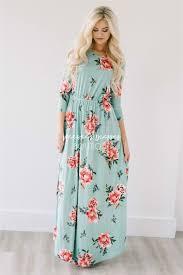 easter dresses mint easter floral maxi modest dress best and affordable