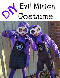 Despicable Minion Costume Diy Purple Minion Costumes Despicable 2