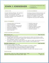 sample resume in doc format free download resume template word doc