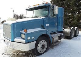 volvo truck tractor 1993 volvo wg semi truck item j5450 sold february 23 tr