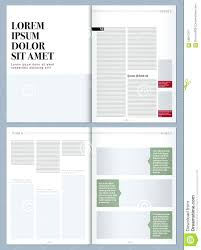 magazine layout size template magazine layout template word design time microsoft