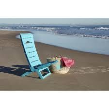 siege de plage pliante fauteuil de plage pliant parsy résine turquoise pas cher à prix auchan
