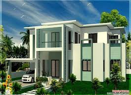 contemporary home plans roof bedroom flat roof villa house design plans beautiful modern