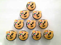 Children In Need Pudsey Cupcakes The Fondant Fancy