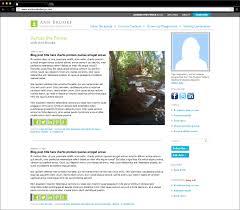 website redesign vi page template design design work blog