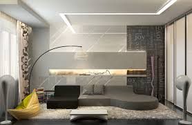 Modern Living Room Style Fujizaki - Living room wall tiles design