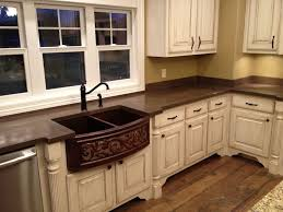 pictures of kitchen countertops and backsplashes concrete countertops backsplash concrete countertops