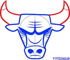 how to draw the chicago bulls chicago bulls step by step sports
