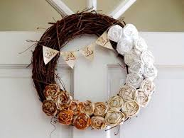 furniture accessories fall wreath ideas door ornament decorating