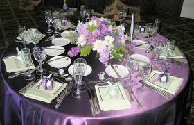 wedding reception table decorations wedding table decorations purple and silver wedding corners