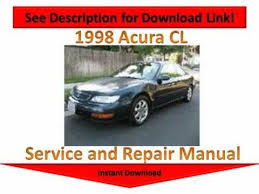 how to download repair manuals 1998 acura tl windshield wipe control 1998 acura cl repair manual youtube
