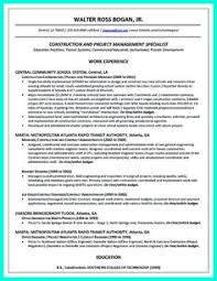 Construction Superintendent Resume Templates Resume Samples Resumes And Cover Letters Examples Free Templates