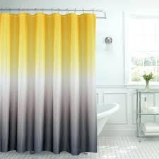 yellow and gray bathroom ideas l yellow grey light gray ruffle shower curtain bathroom ideas pink
