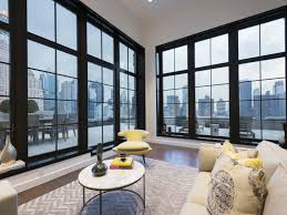 a luxurious nyc duplex penthouse offers dramatic skyline views