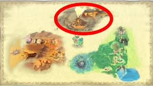 skyward sword map hyrule the centuries mountain spectacle rock