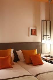 deco chambre orange deco chambre orange maison décoration