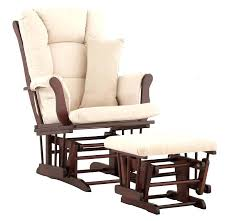 Wooden Nursery Rocking Chair Gliders With Ottoman For Nursery Fantastic Nursery Chair And