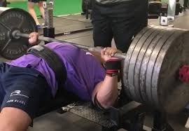 Mike Macdonald Bench Press Larry