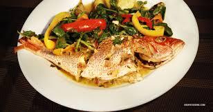 cuisine du poisson poisson gros sel kedny cuisine