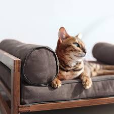 Cushion Pets Aldo Pet Lounger Grey Cushion Small 26