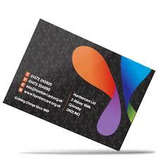 Matt Laminated Business Cards Silk Matt Laminated Business Cards Ecolour Print
