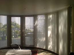 Bay Window Roller Blinds Bend It Curved Headrail Vertical Blinds For Bay U0026 Bow Windows