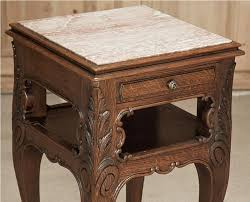 marble top nightstand antique u2014 new decoration