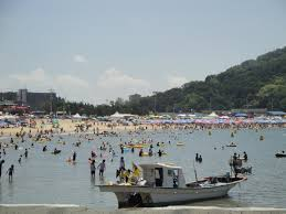 eurwangni beach near incheon international airport 을왕리