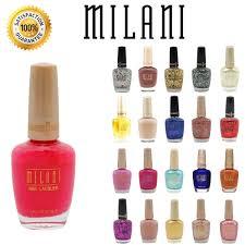amazon com lot of 10 milani finger nail polish color lacquer all
