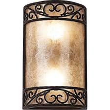 Images Of Wall Sconces Organic Amber Art Glass 23 1 2