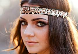 retro headbands hairpieces for prom glam gowns