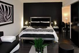 chambre noir et blanc design decoration d interieur moderne chambre et blanche on