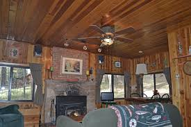 Dining Room With Ceiling Fan by Rustic Ceiling Fan Dining Room Eclectic With Lodge Fan Lodge Style