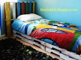Twin Bed Frame And Headboard The Pink Lab Diy Twin Bed Frame And Headboard Furniture Ideas