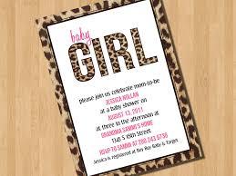 leopard baby shower invitations u2013 gangcraft net