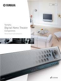 yamaha home theater download free pdf for yamaha yht 560 home theater manual