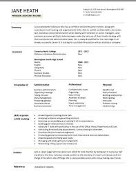 students resume examples sample resumes student cv template