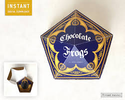 where to buy chocolate frogs harry potter party printable chocolate frog box template