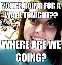 Newest Meme - overly attached girlfriend mad about memes