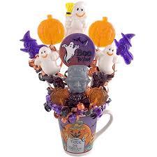 lollipop bouquet lollipops ghosts candy bouquet gift baskets