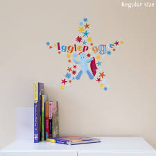 stickerscape igglepiggle star wall sticker regular size star wall sticker regular size hover zoom