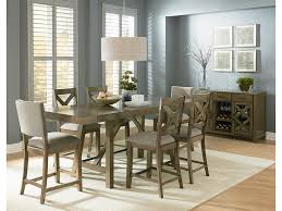 standard furniture omaha grey casual dining room group household