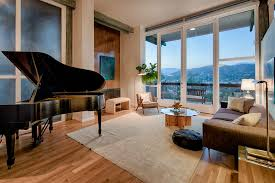 floor to ceiling glass doors updated eagle rock midcentury with stunning city views asks 1 2m