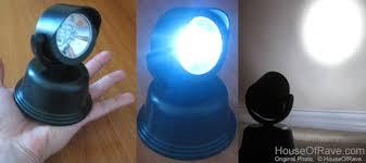 portable mini spot light batt operated