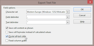 how do you force excel to quote all columns of a csv file super