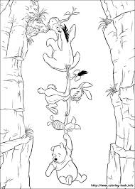 winnie the pooh coloring picture images to color pinterest