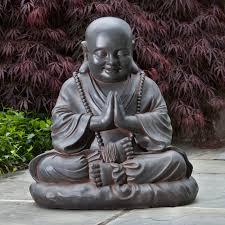design toscano jolly hotei buddha garden statue hayneedle