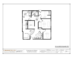 Office Floor Plan Template Example Floor Plan With Closed Adjusting Rooms Open Rehab Rooms