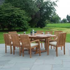 Patio Set Png Teak Garden Furniture Dining Set Eight Seat Oval Teak Table